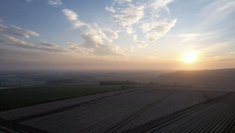 Wolds Sunset